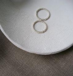 ringeschale mit spitzenmuster selbermachen