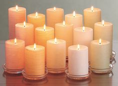 GloLite by PartyLite - Spring colors and scents