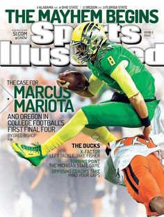 buy The Case for Marcus Mariota - Oregon Football Sports Illustrated cover reprints College Football Playoff, Oregon Ducks Football, Cowboys Football, Football Helmets, Si Cover, Sports Illustrated Covers, The Sporting Life, State Game, University Of Oregon