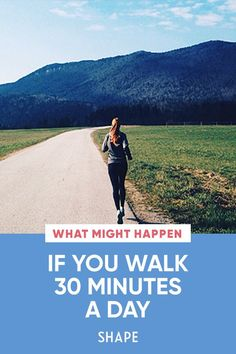 You easily spend 30 minutes a day on social media. (It's OK, we do, too.) Well, put down your phone and use that time to take a walk around the neighborhood. There are eight amazing things that might happen if you do. #walking #health You Fitness, Fitness Tips, Health Fitness, Belly Fat Workout, Best Diets, Get Healthy, Natural Health, At Home Workouts, Cardio