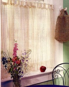 Ravelry: Simple Lace Curtains pattern by Judith Durant