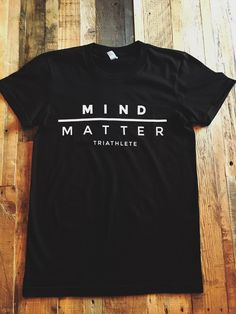 "Mind/Matter Triathlete Short Sleeve Shirt - Women's ""Original"" Black"