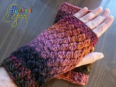 Ravelry: The Rayleigh Wristers pattern by Stephenie Hickok