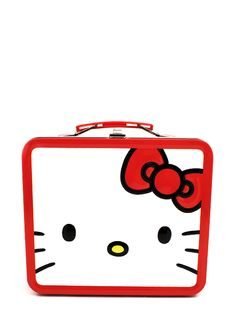 hello kitty face lunchbox $13.80