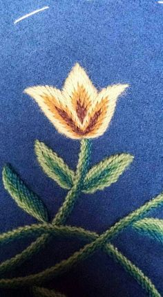 Wool Embroidery, Looking For Someone, Traditional Dresses, Norway, Sewing Crafts, Folk, Cross Stitch, Textiles, Manga