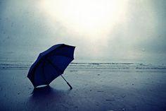 LONDON DREAM - Rain Art Umbrella  Ocean
