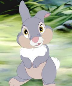 Thumper: Now here's a little guy who's not only cute, but smart, too (In more ways than one)!