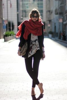 50 Extremely Cool Scarfy Looks - Sortashion