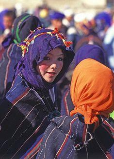 Berber girl participating into Imilchil Wedding Festival #Morocco