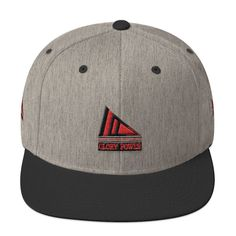 Wool Blend Snapback(3D Puff Embroidery) - GLORY Power