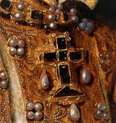 Elizabeth of Valois, Queen of Spain- follower of Antonis Mor