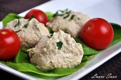 Pate de ton Romanian Food, Finger Foods, Potato Salad, Food And Drink, Pasta, Fish, Chicken, Meat, Cooking