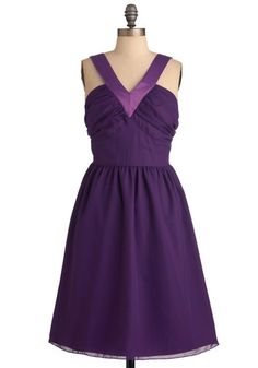 This dress reminds me of my sister Andrea.  Maybe it is the lovely lines of the dress.  Amethyst Magic Moment Dress