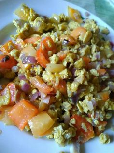 Lilahagymás paprikás tojás reggeli Grains, Food And Drink, Rice, Breakfast, Red Peppers, Morning Coffee, Seeds, Laughter, Jim Rice