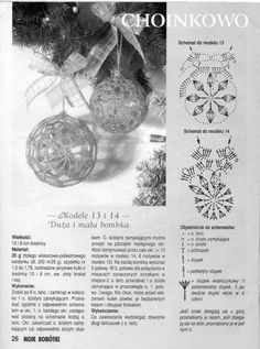 … - Her Crochet Crochet Christmas Decorations, Christmas Tree Pattern, Crochet Ornaments, Crochet Decoration, Crochet Snowflakes, Beaded Ornaments, Christmas Bells, Diy Christmas Ornaments, Crochet Ball