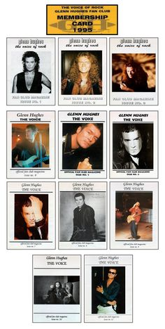 "Glenn Hughes @glenn_hughes ""The Voice"" Fan Club Magazine 1995-1998. Repin, +1, Follow, Share, RT, Like & click image to Download NOW!"