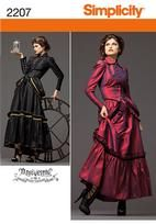 Misses' Steampunk Costume...can I just say, where were Steampunk costume patterns when I was a teen?!