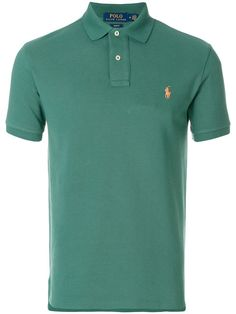 Buy Online Polo Ralph Lauren Slim-fit Polo Shirt for $107. Purchase Today with Fast Global Delivery, New Arrivals, New Season Ralph Lauren Shop, Ralph Lauren Slim Fit, Slim Fit Polo Shirts, Camisa Polo, Polo Club, Lauren Green, Men's Wardrobe, Mens Fashion, Fashion Outfits