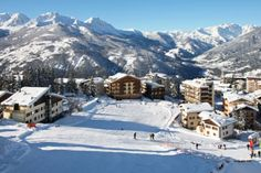 Souze D'Oulx in Italy. My favourite ski resort in the world. Thats the Andy Capp bar tucked in on the right for the best apres ski ever!