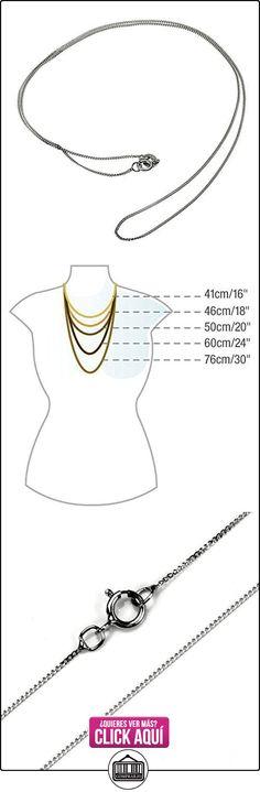 PRINS JEWELS Mujer Niños Hombre  18 quilates (750)  oro blanco 18 quilates (750)  ✿ Joyas para hombres especiales - lujo ✿ ▬► Ver oferta: https://comprar.io/goto/B01GU0QB60