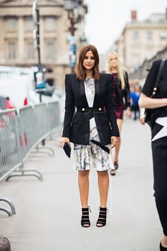 Christine Centenera - Love the structured little jacket