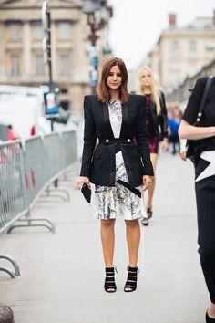 Christine Centenera, dress, heels, jacket | Klänning, högklackat, kavaj
