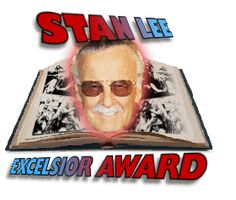 Stan Lee Excelsior Award Shortlist Jan-April Winner July