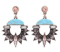 Spring Nights Earrings - Turquoise