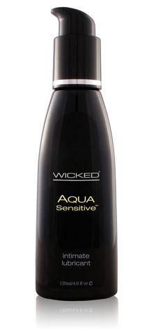 Aqua Sensitive Water-Based Lubricant - 4 oz. Funtimes209