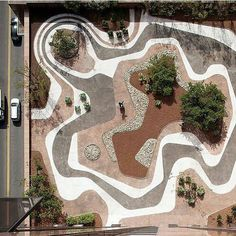 Robert Burle Marx  Mineral Roof Garden Banco Safra Headquarters São Paulo. 1983  #desing #roofgarden #burlemarx #garden #gardening #beautiful #love #plant #jardin #trees #plants #landscape #park #greenthumb #garten #nofilter #trädgård #picoftheday #instagood #cute #scenery #photooftheday #architecture #amazing #landscape_lovers #paysage #paisaje #awesome #cool #art