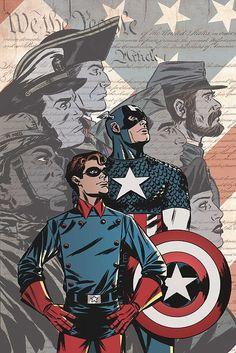 Captain America 65th Anniversary Special by Eric Wright