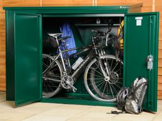 A Bicycle Storage Shed Protects The Bicycles From The Elements And From  Thieves As Well. Bicycles Can Be Very Expensive Nowadays With All The  Technology.