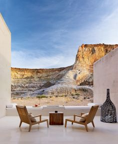 the Amangiri resort near Page, AZ. If I ever get married I want to have the reception here. It's taken me twenty years but I've finally learned to love the desert.