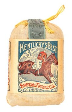 Kentucky's Best Tobacco Pouch