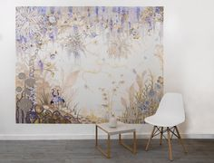 Wisteria Wonderland Picture Mural Paste the wall wallpaper
