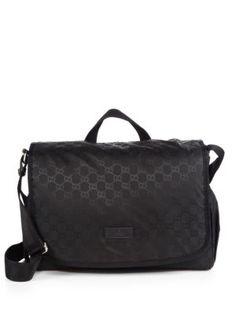 fb046735e22c My New Diaper Bag for Baby Christopher - LOVEEEEE IT! :) Gucci - Diaper Bag  - Saks.com