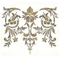 Stencils   Toulouse Classic Panel Stencil   Royal Design Studio