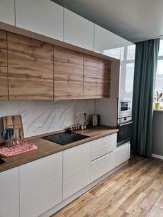 Kitchen Room Design, Best Kitchen Designs, Kitchen Cabinet Design, Modern Kitchen Design, Kitchen Layout, Home Decor Kitchen, Interior Design Kitchen, Home Kitchens, Kitchen Grey