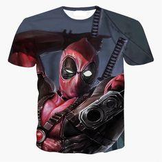 T-Shirt Fitness Short Sleeve Tee Shirts Training Deadpool //Price: $14.90 & FREE Shipping // #marvel #marvelcomics #dead #pool #deadpool #superhero #ryanreynolds #meme
