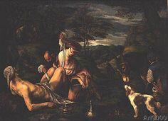 Francesco Bassano - The Parable of the Good Samaritan, 1575