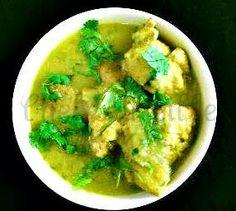 Assam Chicken Curry, Assamese Cuisine, Assamese Recipes