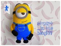 Minion Stuart Free Crochet Pattern