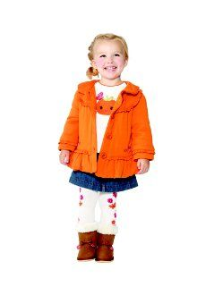 Sissy in Bright Pumpkin for Gymboree August 2012