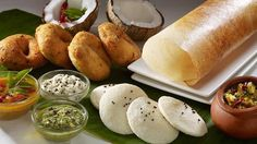 South Indian Breakfast delicacies