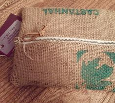 Burlap pencil case repurposed by LinaandVi
