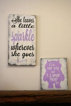 She Leaves A Little Sparkle Wherever She Goes Pallet Sign Girls Nursery Sign Lavender Nursery Decor Girls Bedroom Sign Baby Gift Shabby Chic Bedroom Signs, Nursery Signs, Nursery Wall Decor, Girl Nursery, Girls Bedroom, Nursery Ideas, Girl Rooms, Nursery Art, Bedroom Decor