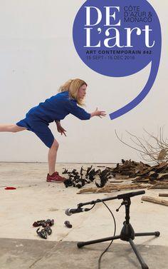 DEL'ART #42 En couverture : Anna Byskov Guide de l'art contemporain sur la Côte d'Azur et à Monaco www.de-lart.org