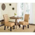 Luz Natural 18 in. H Wicker Dining Chair (Set of 2)