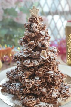 dessert recipes 2955555985826297 - Sapin rose des sables Source by roseandcook Cookie Exchange, Simple Christmas, Christmas Time, Christmas Foods, Christmas Lights, Xmas, Cookie Recipes, Dessert Recipes, Chocolate Oatmeal Cookies
