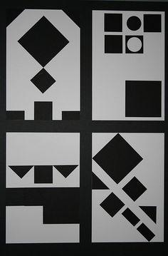 Symmetrical Balance, Asymmetrical Balance, Horizontal, and Diagonal